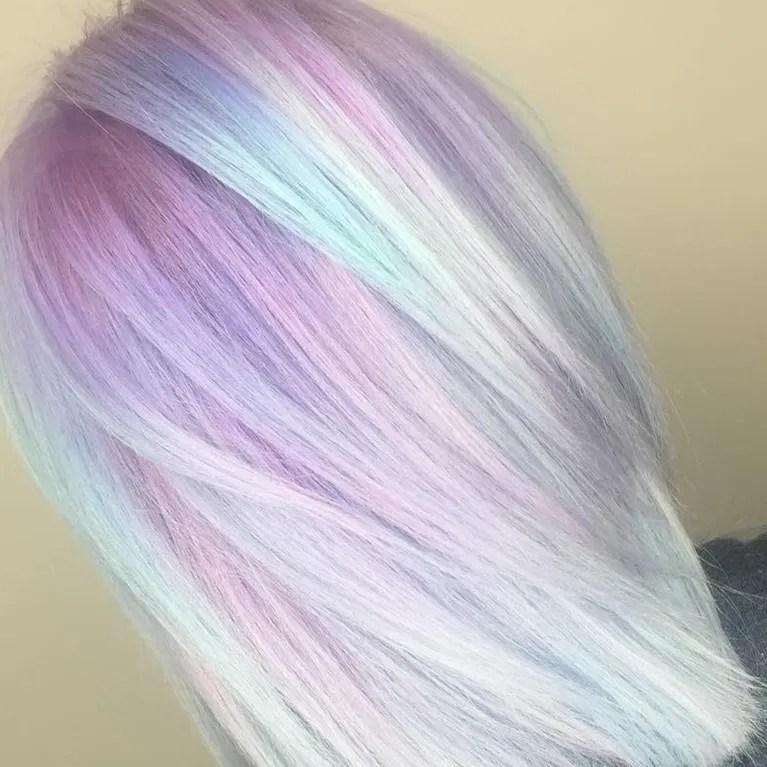 Pastel Colors Hair Coloringsite
