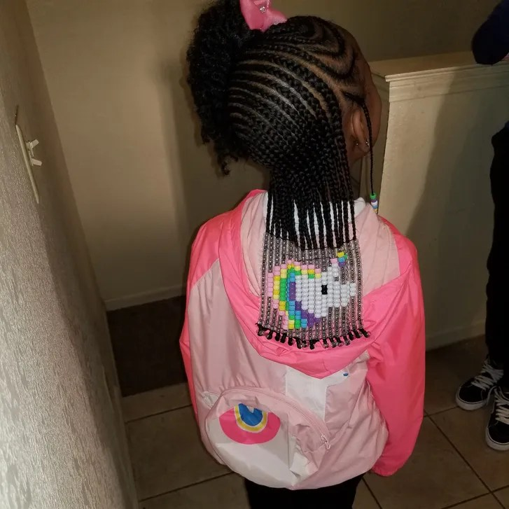 Hairstylist Creates Amazing Beads and Braids Looks to Help Girls Embrace Their Curls and Kinks