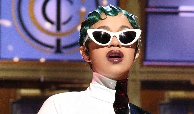 This Is The Lipstick Cardi B Wore To Announce Her
