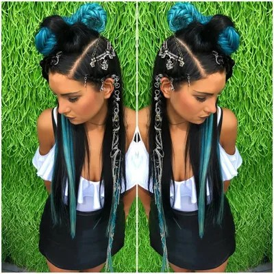 20 Festival Hairstyle Ideas For 2018 Music Festival Hair Trends