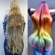 mile-long hair rainbow
