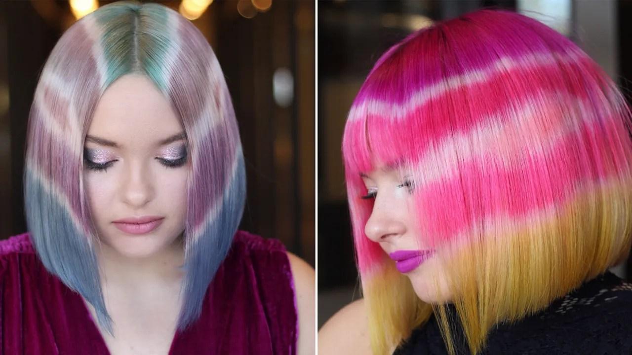 hairstylist creates viral tie