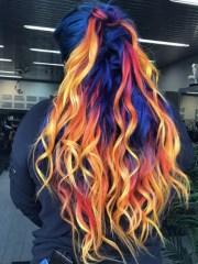 blue phoenix dye job seamlessly
