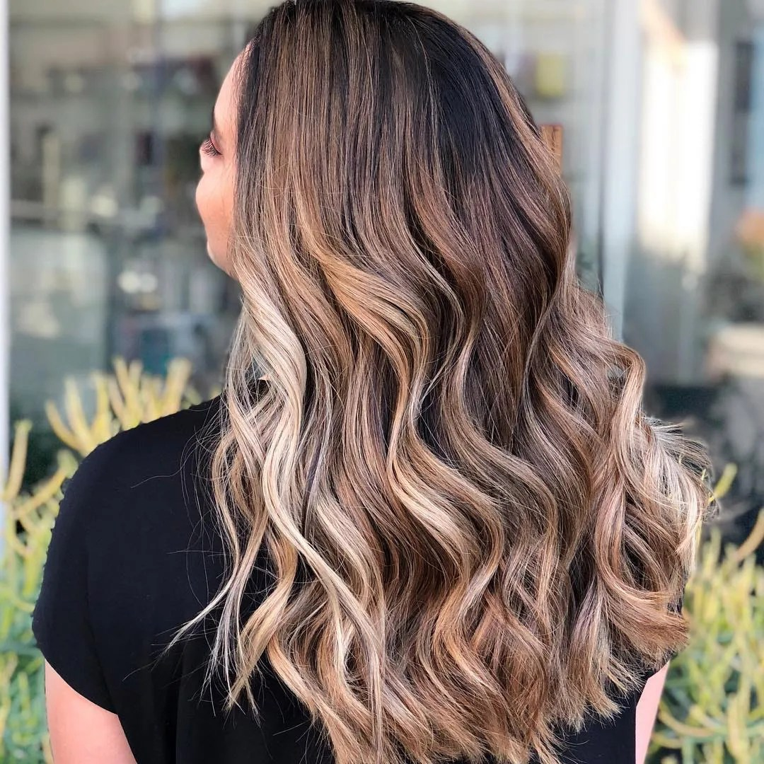 hair color trends of 2018