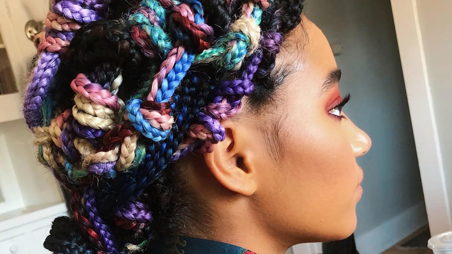 dope box braids hairstyles
