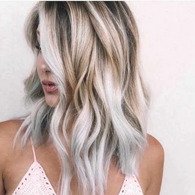 toasted coconut hair is the easiest way to go bronde this