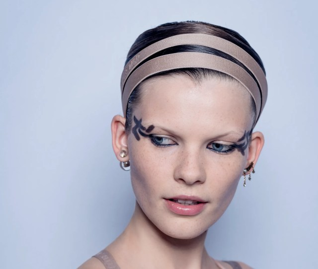 Dior Spring  Dancer Inspired Beauty And Imperfect Cat Eyeliner Allure