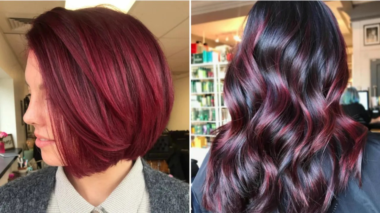 cranberry red hair is