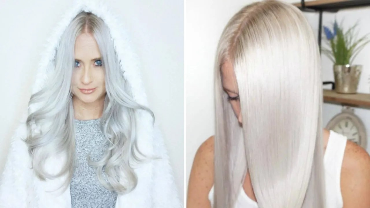 snow hair icy trend