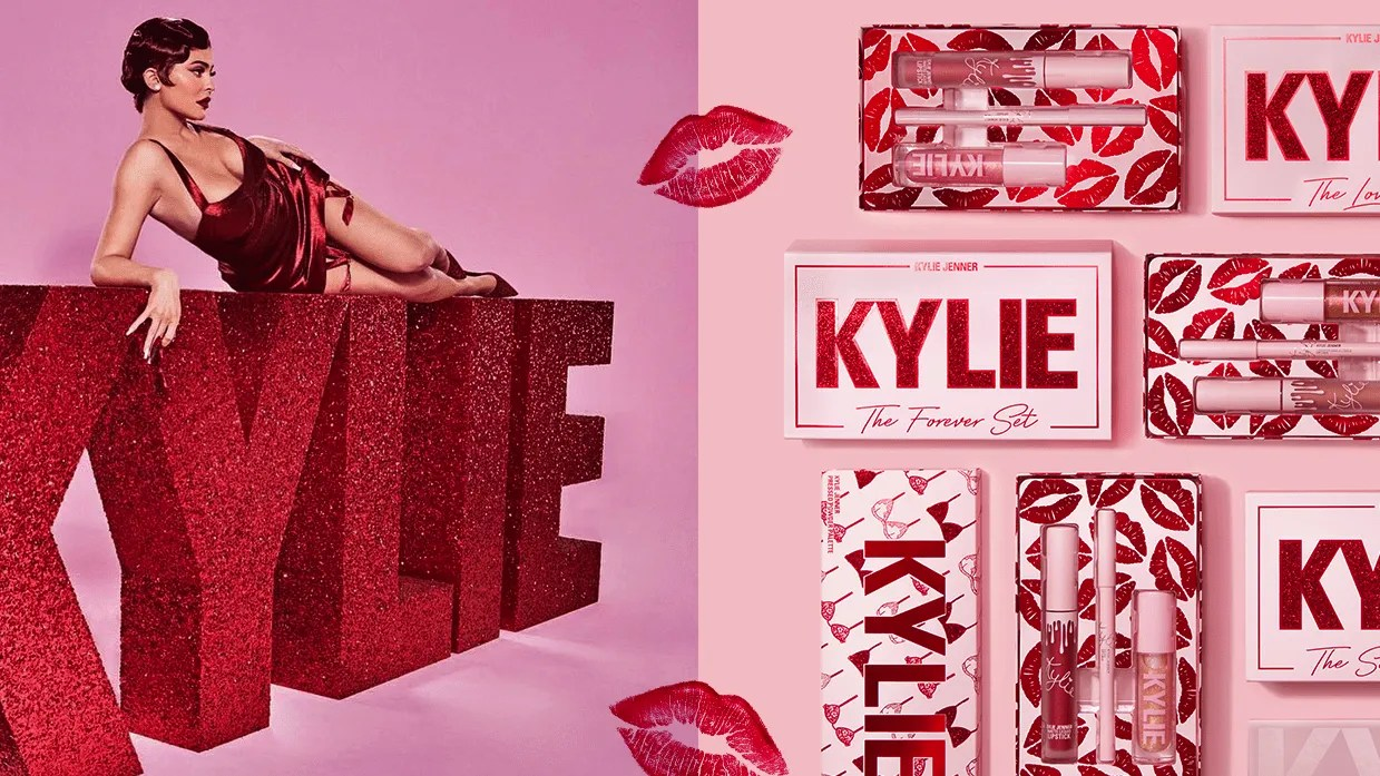 Kylie Cosmetics Launches Valentines Day Makeup Collection