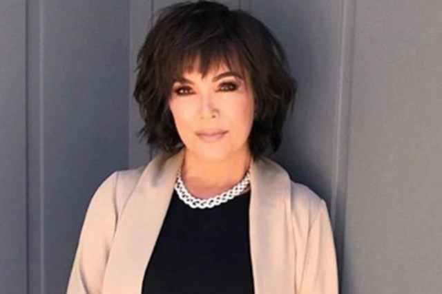 kris jenner's new textured bob haircut makes her look so