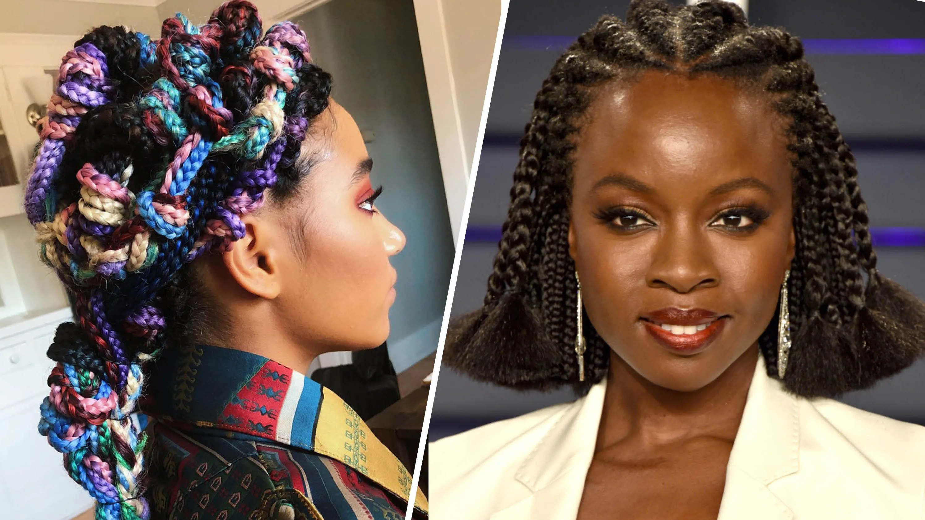 Straight Back With Beads: Straight Back Hairstyles 2018 With Beads