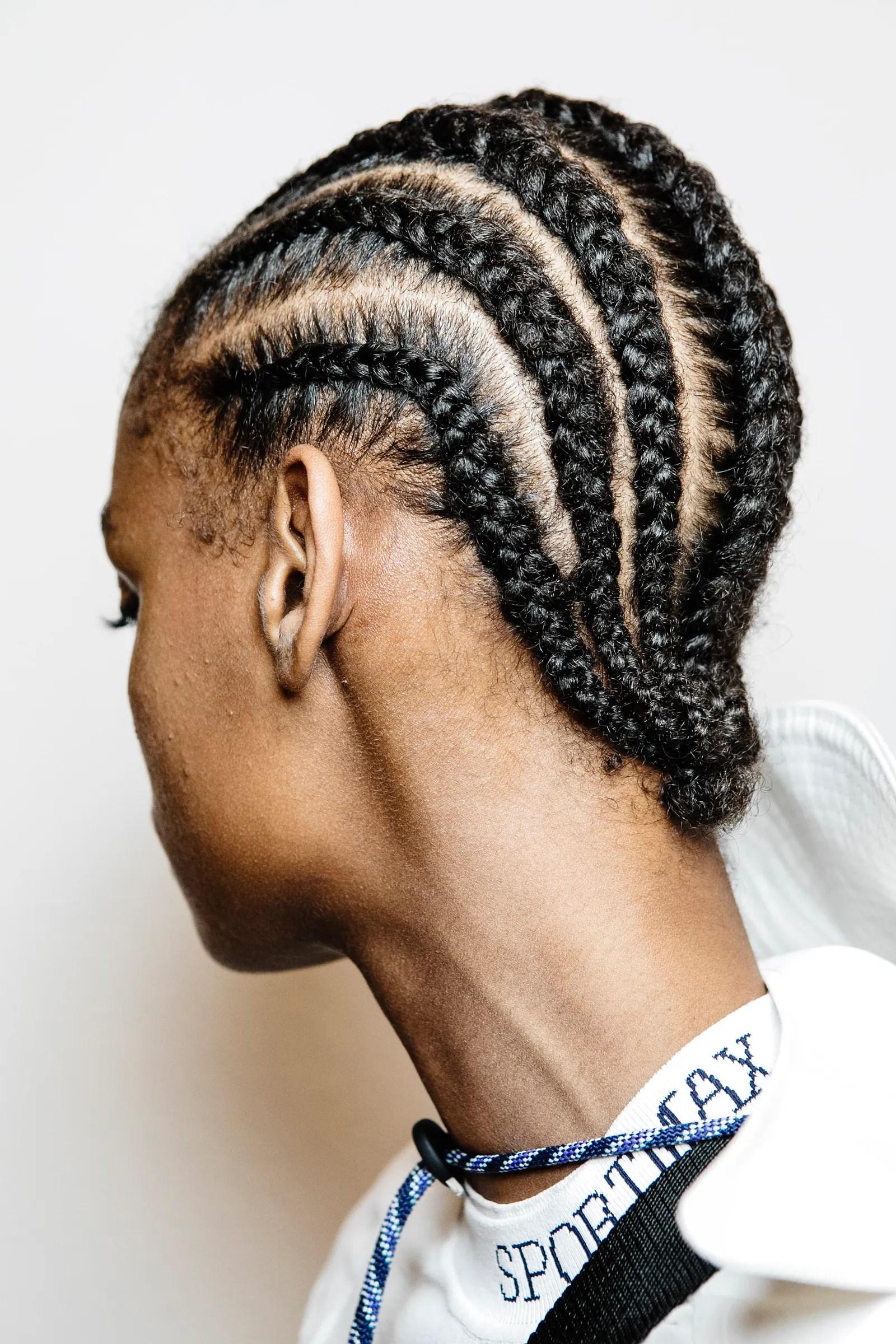 Glue Braids : braids, Braids, Scalp, Underneath, Allure