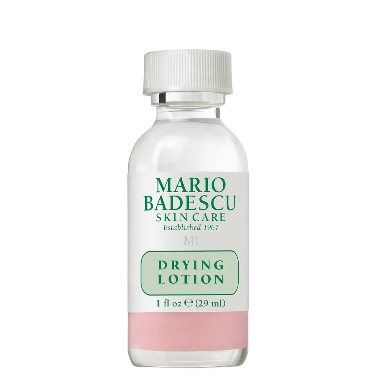 Mario Badescu Drying Lotion on white background