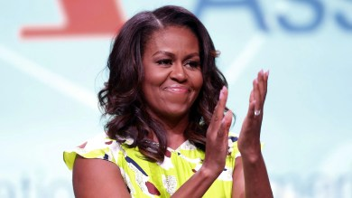 Michelle Obama Showed Off Her Natural Curls for Her Birthday