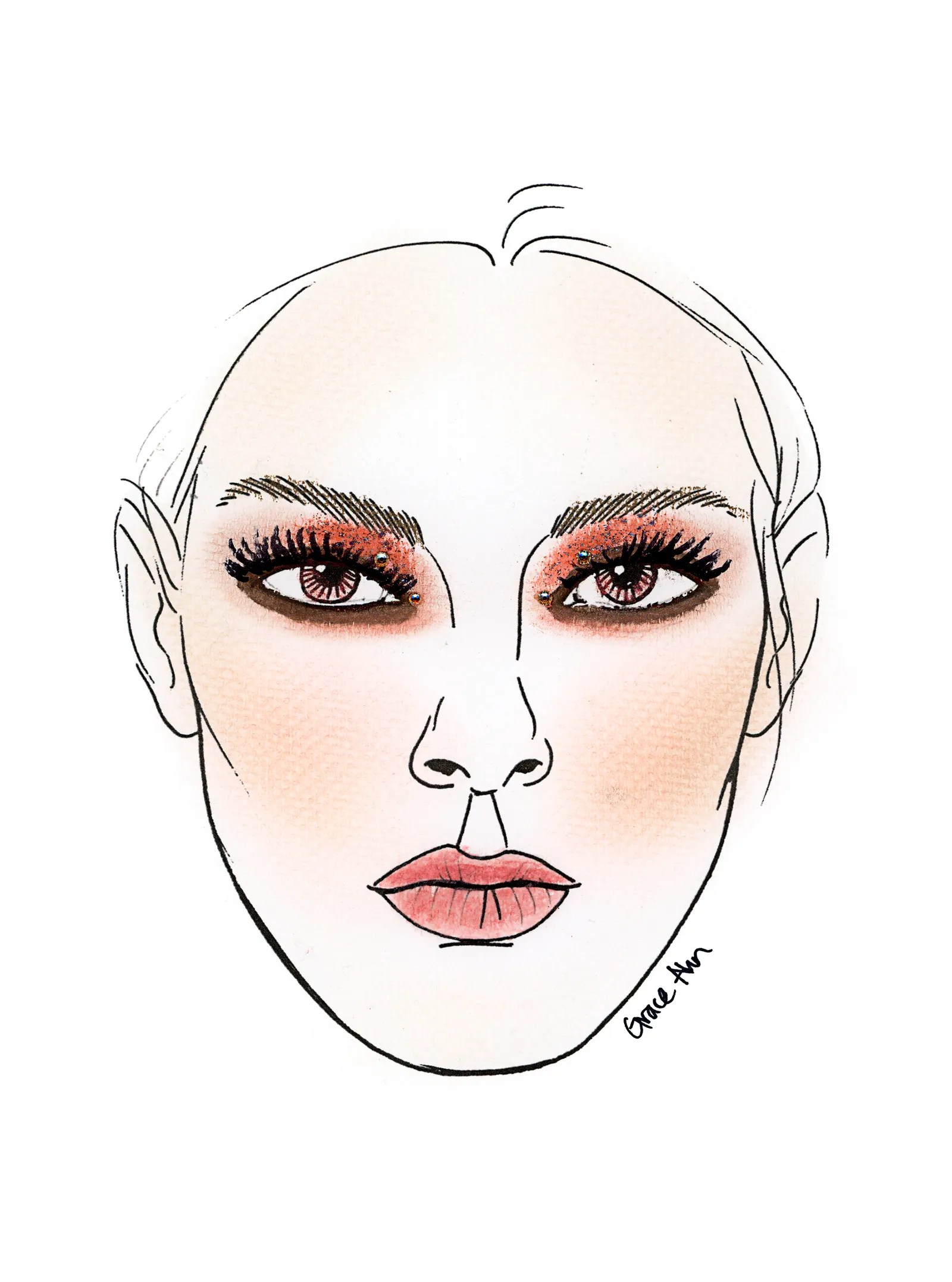 My Ahn Chart : chart, Makeup, Charts, Artists, Allure