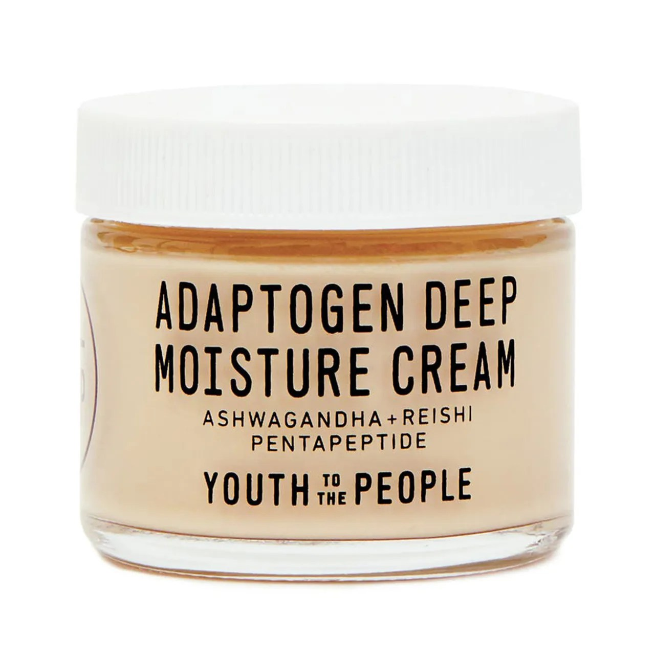 Youth to the People Adaptogen Deep Moisture Cream on white background