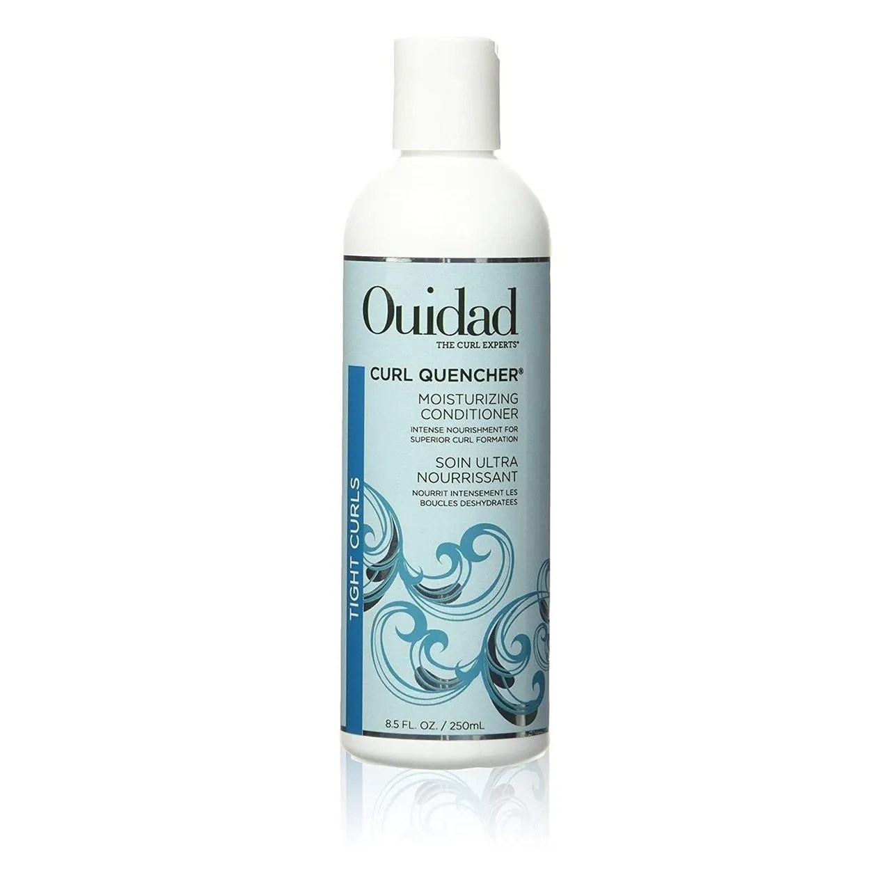 Ouidad Curl Quencher Moisturizing Conditioner on white background