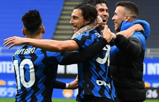 The 11th successive victory for Inter Milan