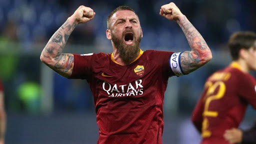 De Rossi with Rome (archive)