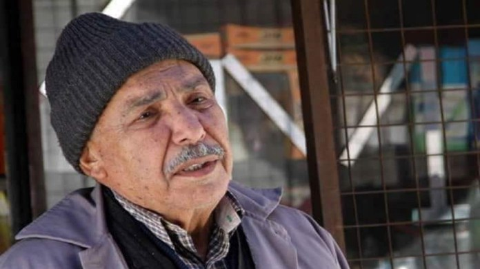 The departure of the Syrian artist Ahmed Mansour
