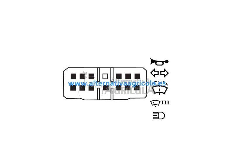 Interruptor Combinado de Luces Massey Ferguson
