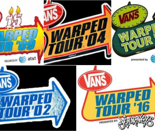 The 10 Bands Who Have Played Warped Tour The Most