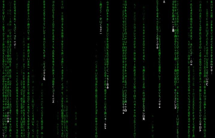 Falling Matrix Wallpaper The Matrix S Iconic Green Code Has Finally Been Translated