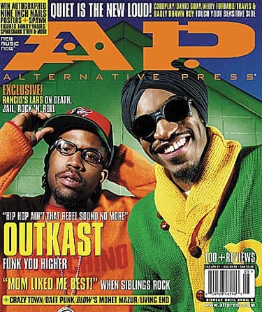 OutKast, Issue #153, April 2001