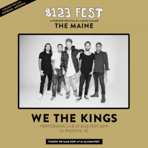 8123 Fest We The Kings