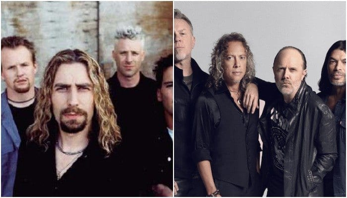 nickelback covered metallica and