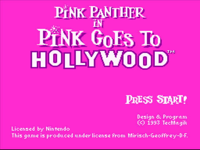 Pink Doctor Panther Goes