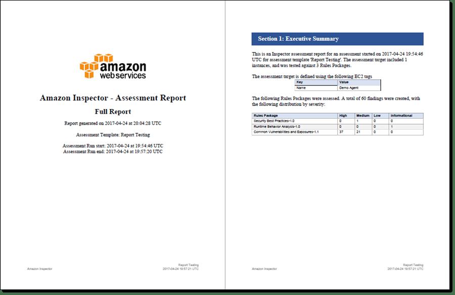 Amazon Inspector Update