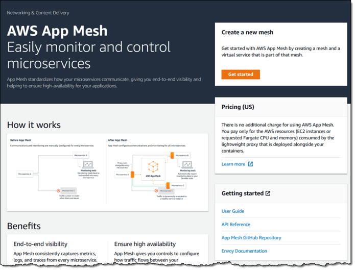 AWS App Mesh – Application-Level Networking for Cloud Applications