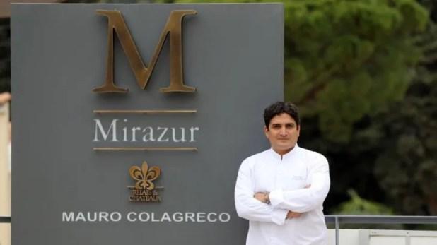 El chef argentino Mauro Colagreco logra su tercera estrella Michelin