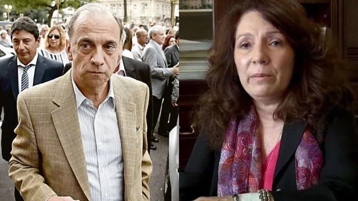 Raúl Plee y Cristina Caamaño.