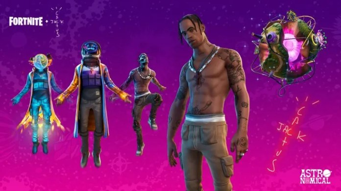 The video game company had already been the trend when the rapper Travis Scott introduced his last song by the Fortnite.