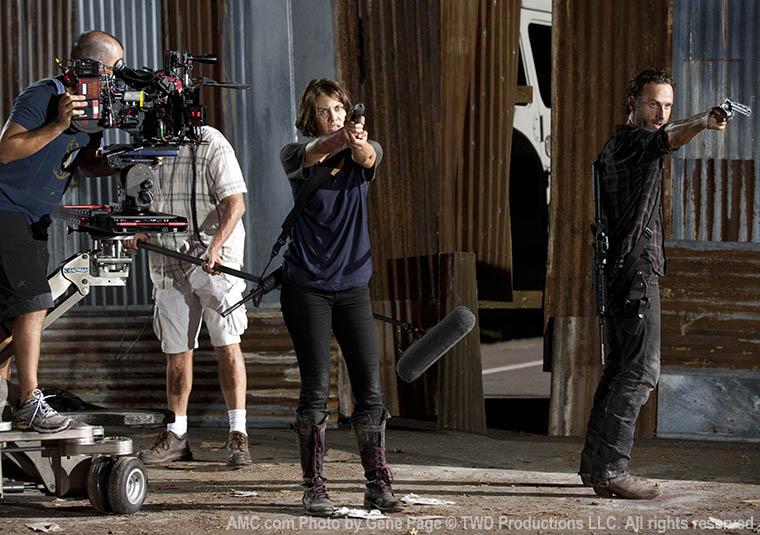 The Walking Dead Season 3 Behind the Scenes Photos