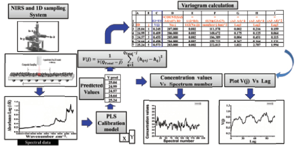 Variographic Analysis of 1-D lots in Pharmaceutical