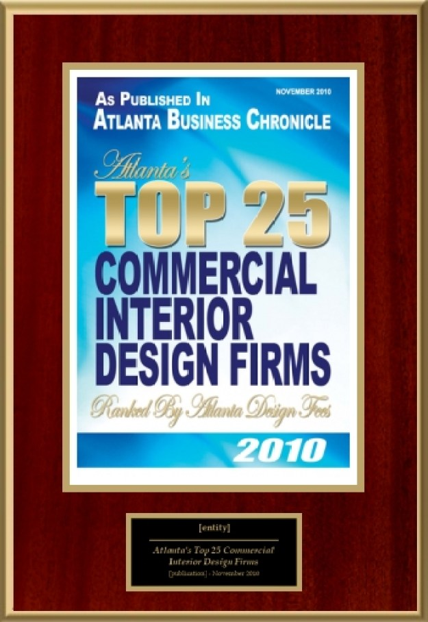 Atlanta s top 25 commercial interior design firms for Top interior design firms