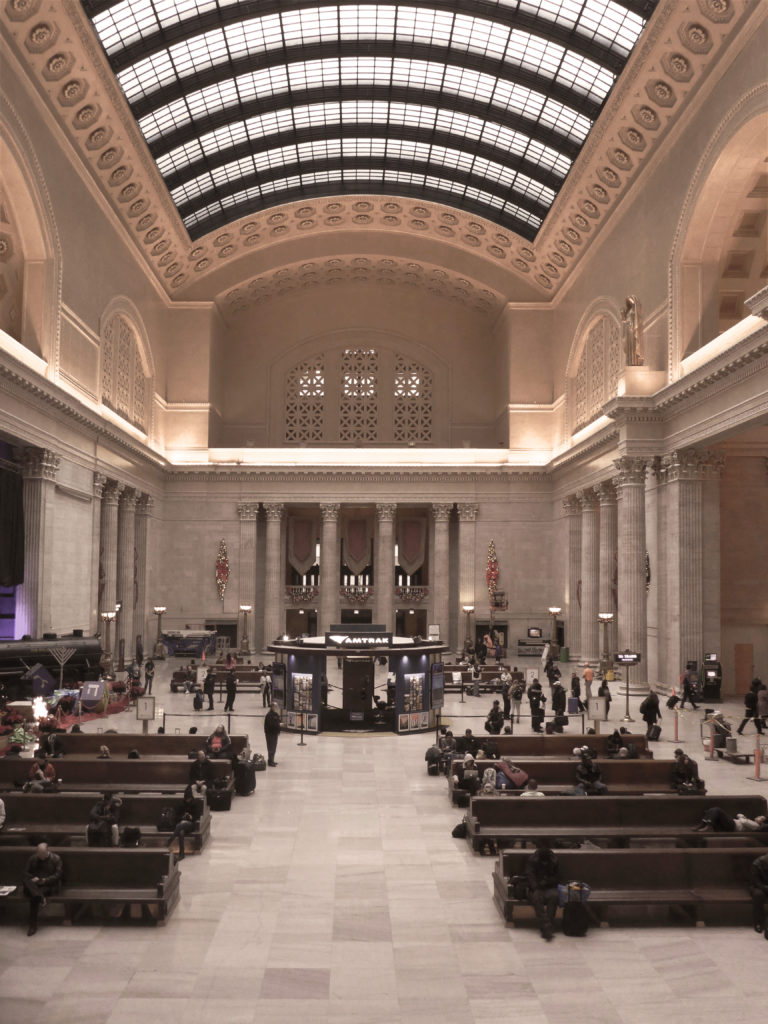 Amtrak Chicago Union Station Great Hall Project Completed