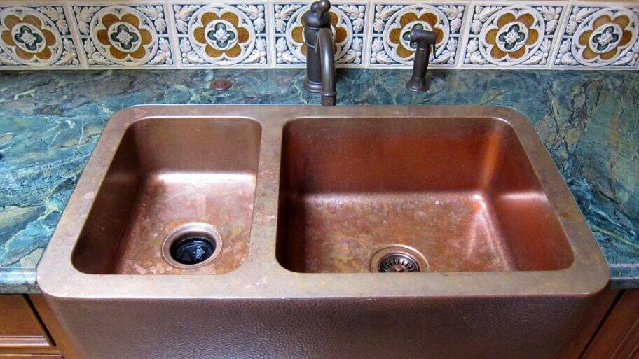 pros and cons of copper kitchen sinks