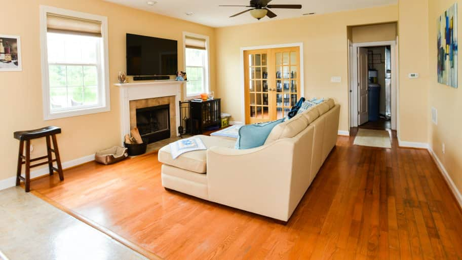how to reuse wood carpet and vinyl