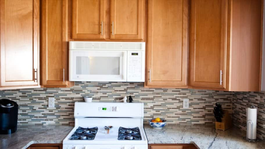 how much does microwave installation