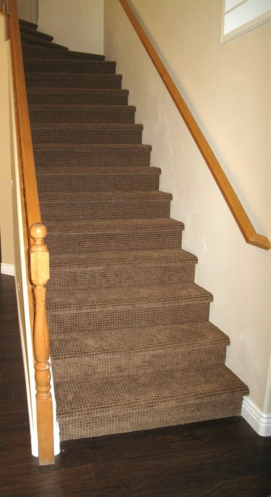 Dark Carpet On Stairs Jpg Angie S List | Best Carpet For High Traffic Areas Stairs