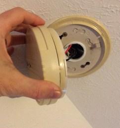 smoke detector wiring two detecter [ 1200 x 1200 Pixel ]