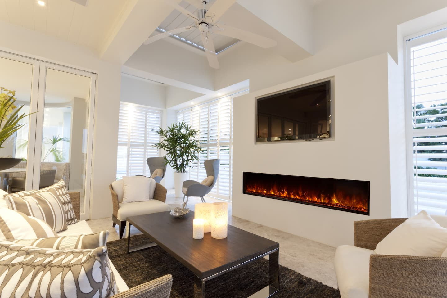 living room fireplace and tv interior design pictures of ideas is an electric worth the money angie s list