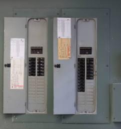 garage electrical service panel [ 2400 x 1600 Pixel ]