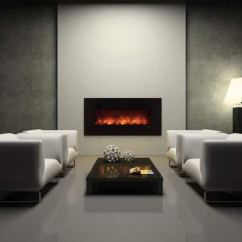 Contemporary Living Room With Electric Fireplace Tile Design Ideas Black In Angie S List Grey Decor