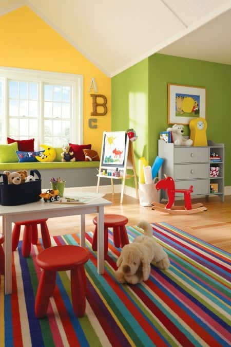 Paint Ideas for a Perfect Playroom  Angies List